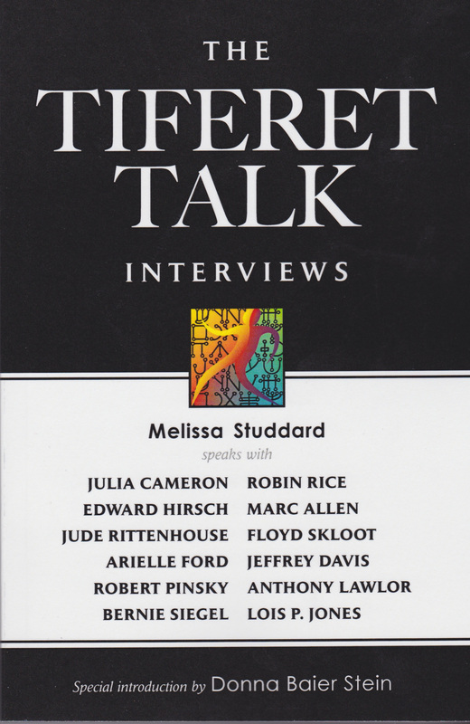 Cover of Tifferet Talk Interviews by Melissa Studdard