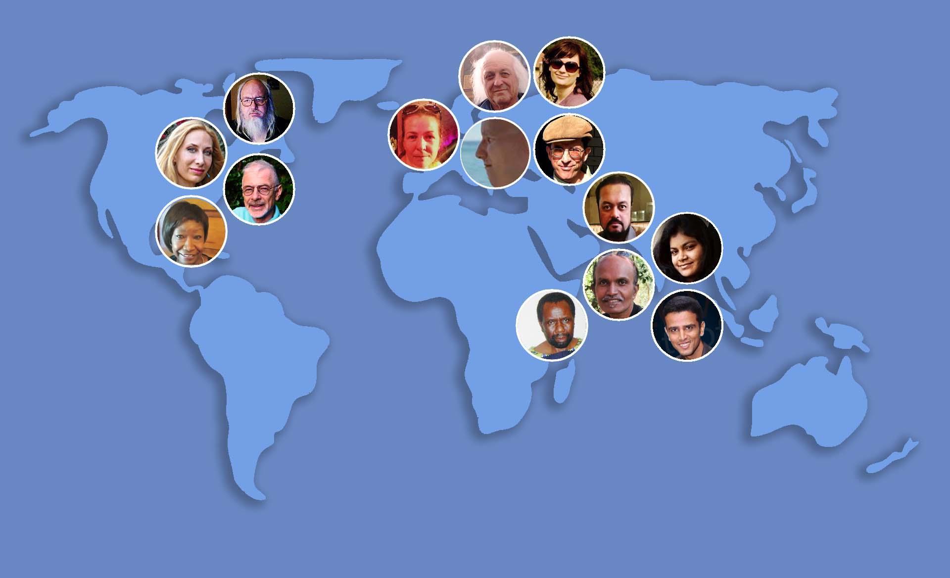 johntext authors world map 2017