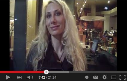 Screen Shot of Youtube Video interview