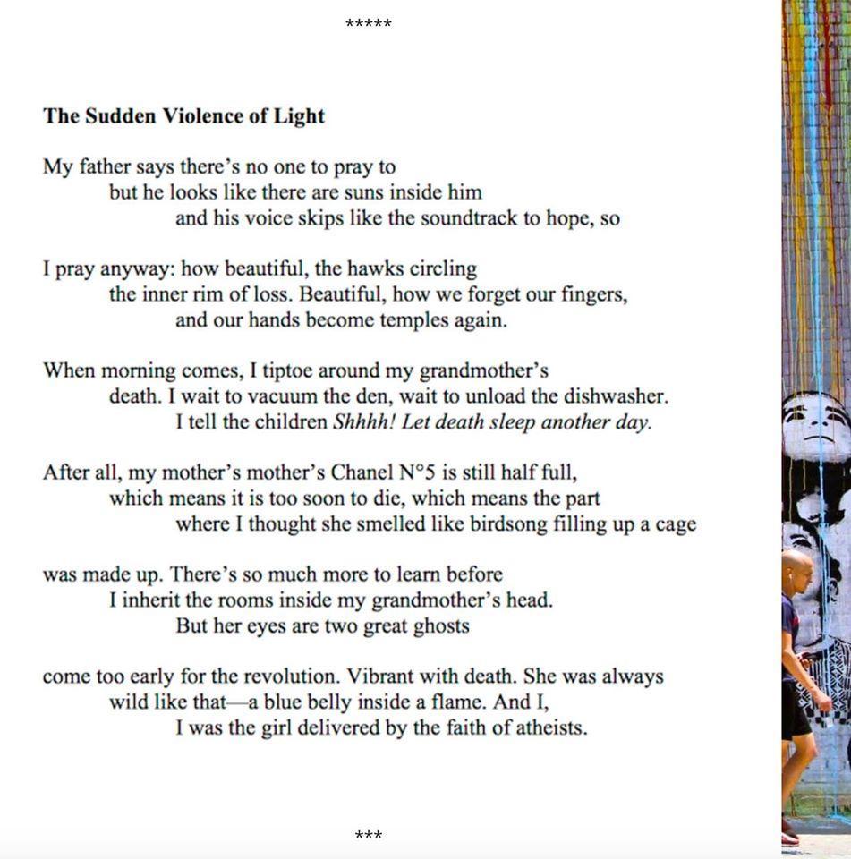 The Sudden Violence of Light