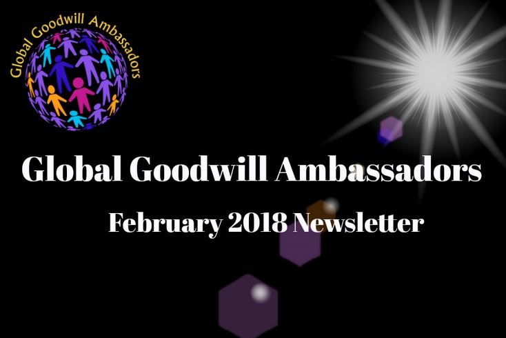 Global Goodwill Ambassadors - Newsletter 02 - 2018
