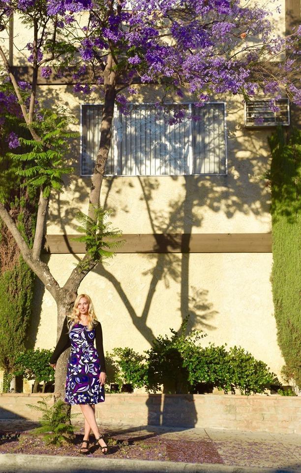Melissa Studdard in LA