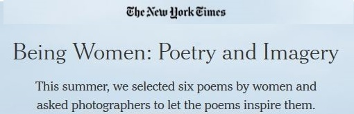 Everyone In Me Is A Bird - poem featured in the New York Times